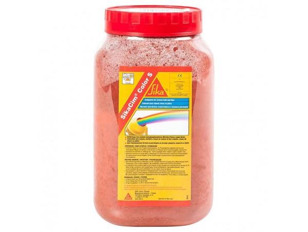 Пигмент-краситель для бетона красный 350 гр.