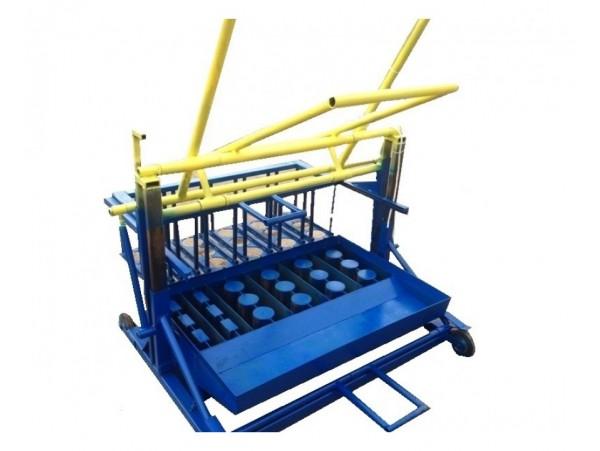 Вибростанок для производства блоков Формовщик-АРМ4+2